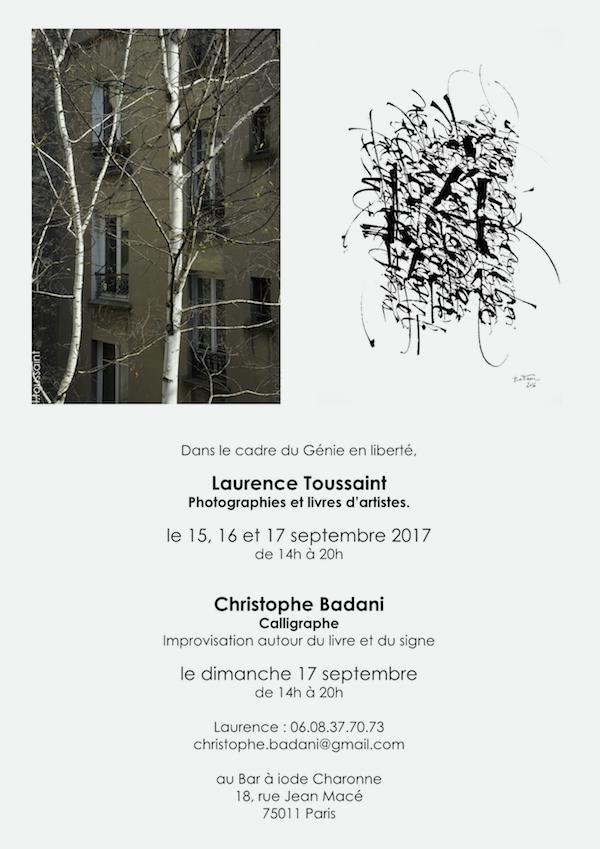 Exposition Génie en Liberté.