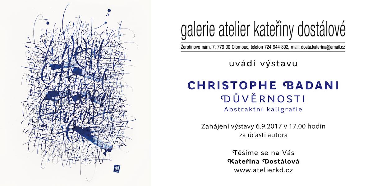 Exposition Galerie Kateřiny Dostálové.