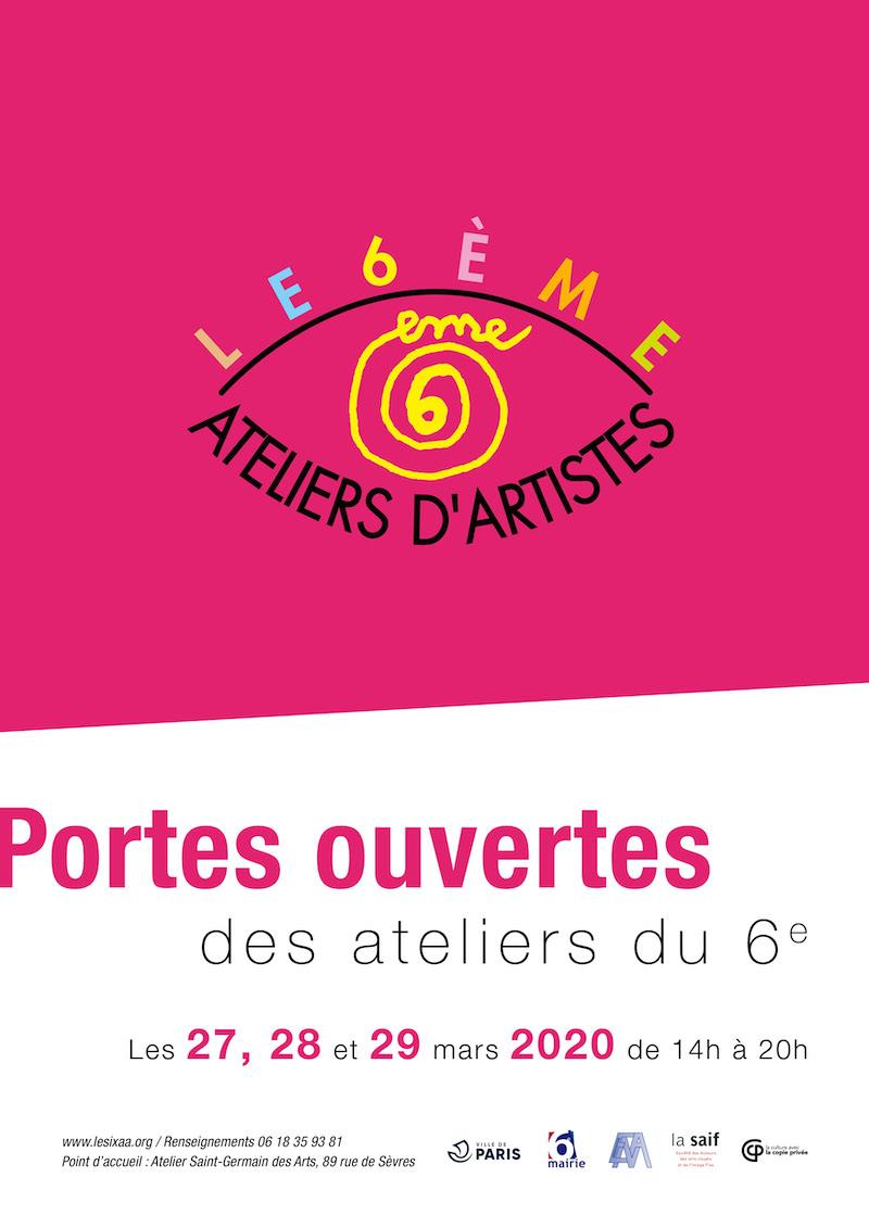 Portes ouvertes Ateliers du 6e à Paris.