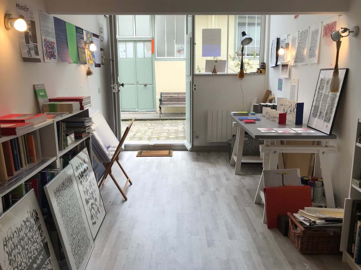 Atelier Christophe Badani - Abstractions Calligraphiques