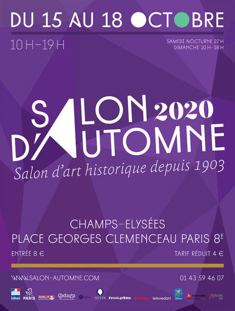 Salon d'Automne 2020, Paris Champs Elysées.